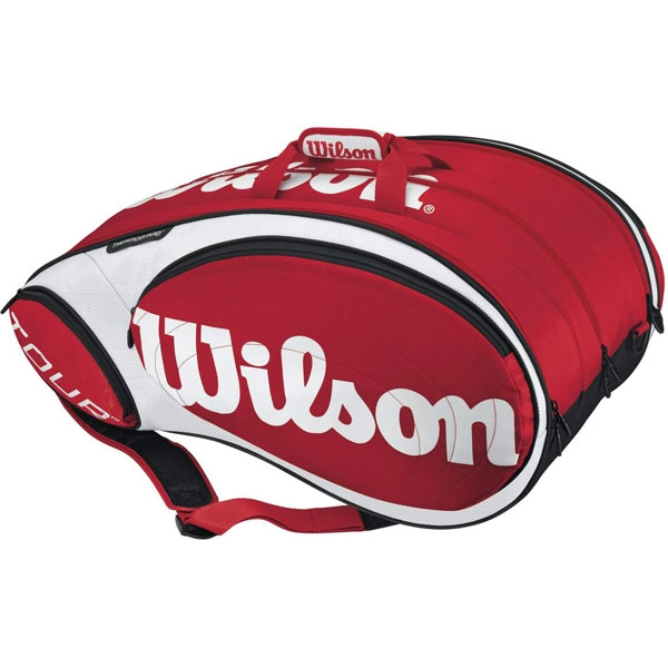 Wilson Tour 15 Pack Tennis Bag (Red/ Wht)