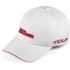 Wilson Tour Cap (White) - Tennis Apparel