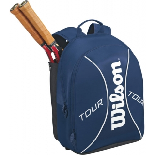 Wilson Tour Tennis Backpack (Blu/ Wht)