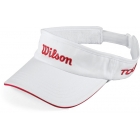 Wilson Tour Visor (White) - Tennis Accessories