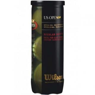 Wilson US Open Regular Duty Tennis Ball Can (3 Balls)