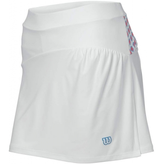 Wilson Women's Passion Skirt (Wht/ Pnk/ Cyn)