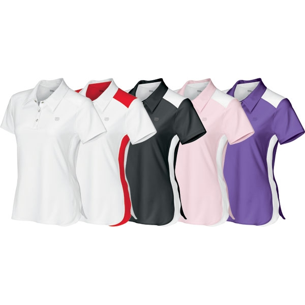 Wilson Women's Short Sleeve Polo (Team)