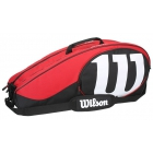 Wilson Match II 6 Pack Tennis Bag - 6 Racquet Tennis Bags