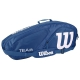 Wilson Team II Navy 3 Pack Tennis Bag (Navy/White) - Tennis Racquet Bags