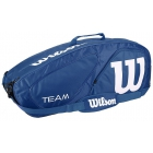 Wilson Team II Navy 6 Pack Tennis Bag (Navy/ White) - Wilson