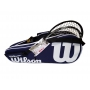 Wilson Advantage II 2-Pack Tennis Bag (Navy/White)