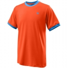 Wilson Competition Boy's Tennis Crew (Tangerine Tango) - Wilson Junior Tennis Apparel for Boys & Girls
