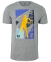 Wilson Men's Geo Play Tech Tennis Tee (Heather Gray) - Shop the Best Selection of Tennis Apparel