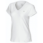 Wilson Womens Melban Capsleeve (White) - Women's Team Apparel