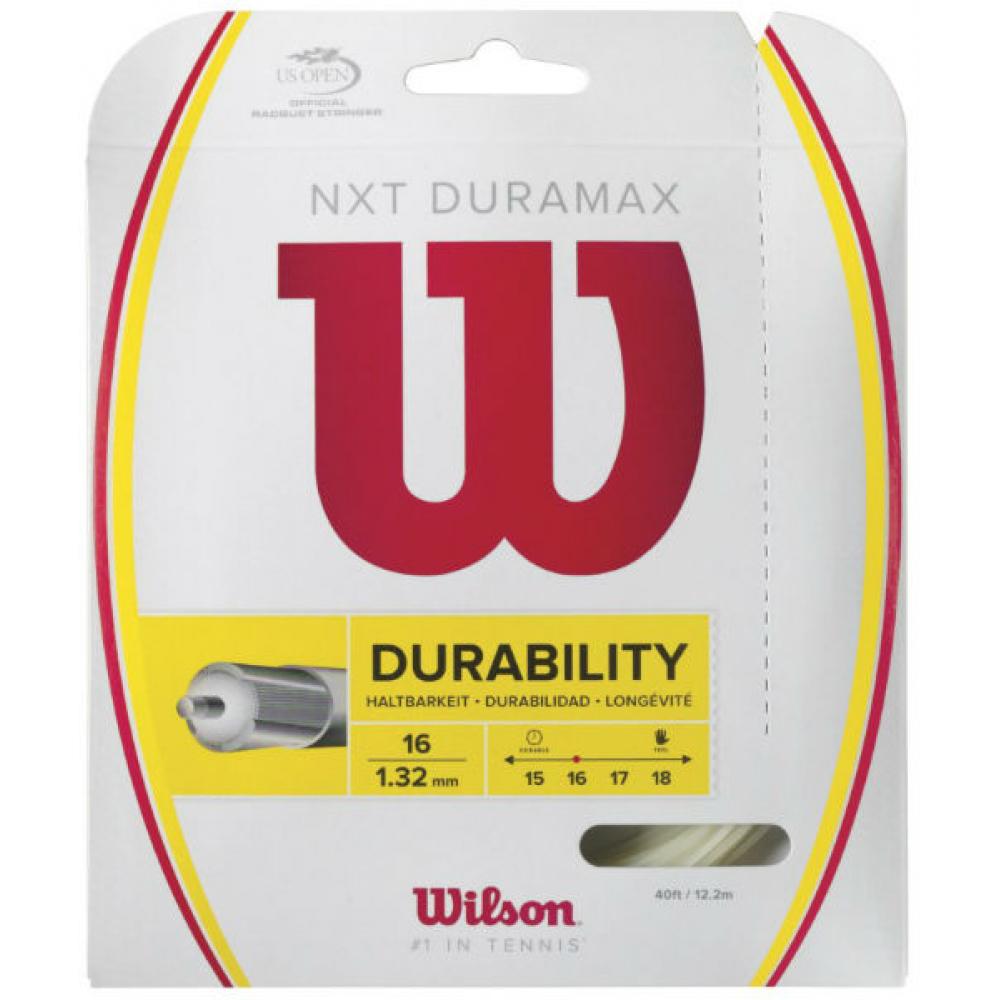 Wilson NXT Duramax 16g Tennis String (Set)