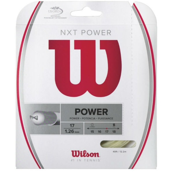 Wilson NXT Power 17g Tennis String (Set)