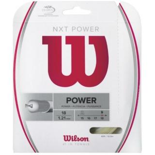 Wilson NXT Power 18g Tennis String (Set)