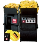 Wilson Portable Ball Machine with Remote & 2-Line Feature - Wilson Ball Machines