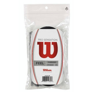 Wilson Pro Overgrip Sensation 30 Pack (Black)