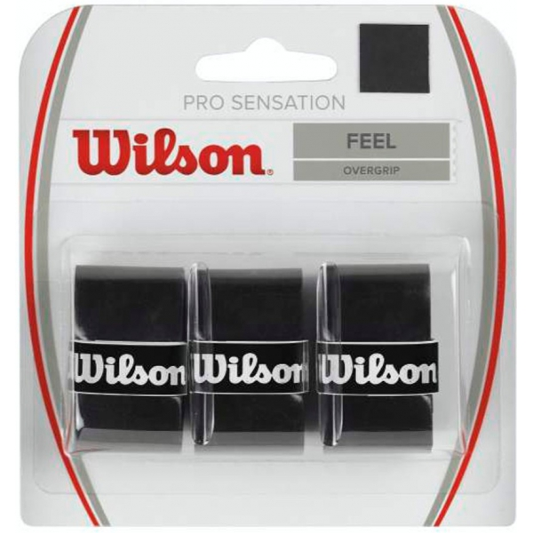 Wilson Pro Overgrip Sensation 3 Pack (Colors Available)