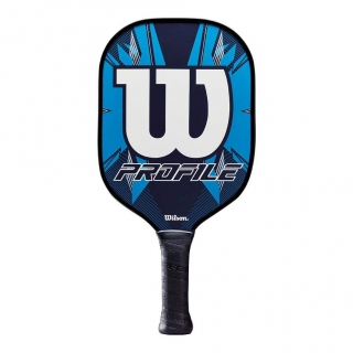 Wilson Profile Pickleball Paddle (Blue/Black)
