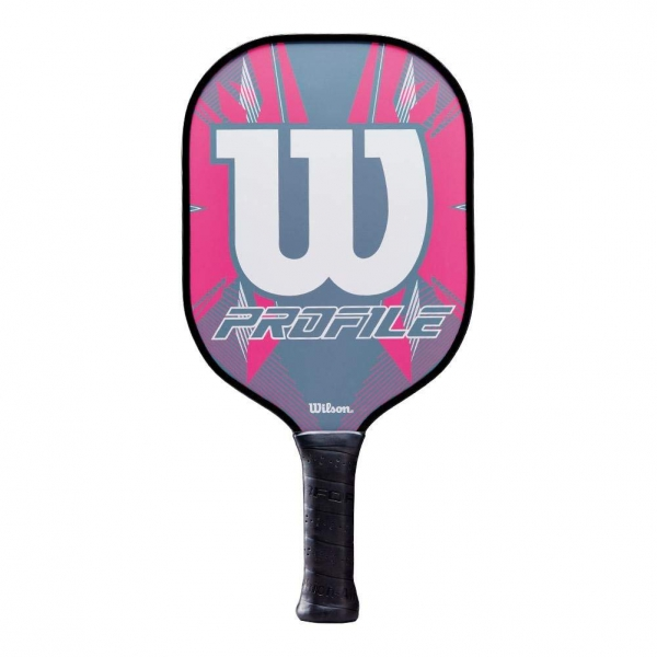 Wilson Profile Pickleball Paddle (Pink/Grey)