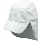 Wilson Rush Neck Cover Cap (White) - Wilson Hats, Caps, and Visors Tennis Apparel
