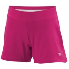 Wilson Girl's Sweet Spot Short (Pink/ White) - Girls's Tennis Apparel