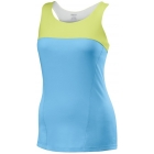 Wilson Women's Solana Racerback Tank (Oceana/ Green) - Wilson Women's Apparel Tennis Apparel