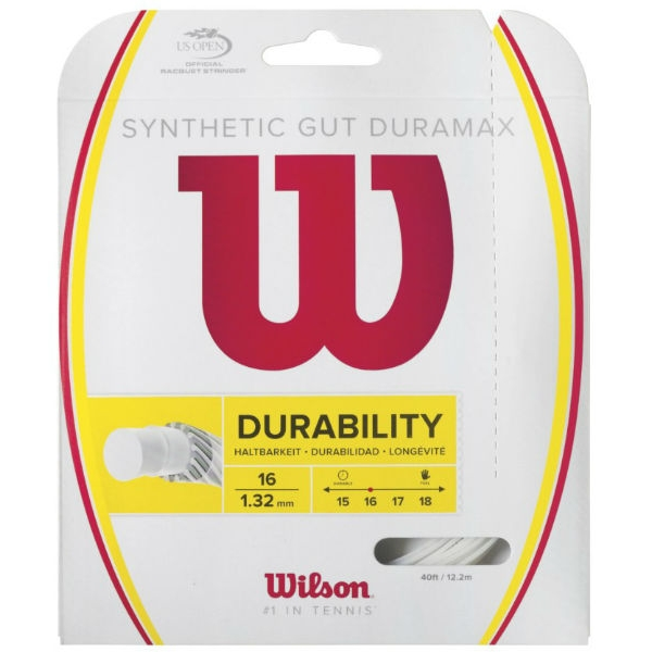 Wilson Synthetic Gut Duramax 16g White (Set)