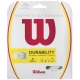 Wilson Synthetic Gut Duramax 16g White (Set) - Synthetic Gut Tennis String
