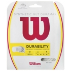 Wilson Synthetic Gut Duramax 17g White (Set) - Tennis String Brands