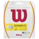 Wilson Synthetic Gut Duramax 17g White (Set) - Synthetic Gut Tennis String