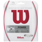 Wilson Synthetic Gut Power 16g White (Set) - Tennis String Brands
