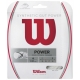 Wilson Synthetic Gut Power 16g White (Set) - Synthetic Gut Tennis String