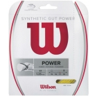 Wilson Synthetic Gut Power 17g Gold (Set) - Tennis String