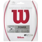 Wilson Synthetic Gut Power 17g White (Set) - Tennis String Brands