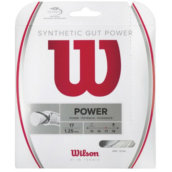 Wilson Synthetic Gut Power 17g White (Set)