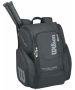 Wilson Tour V Large Backpack (Black/Silver)  - Backpack Collection