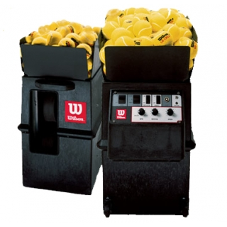 Wilson Portable Tennis Ball Machine with 2-Line Feature