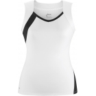 DUC Wink Women's Tank (Wht/ Blk) - Women's Tops Sleeveless Shirts Tennis Apparel