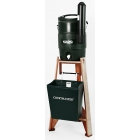 Deluxe Redwood Water Cooler & Stand Assembly - Tennis Equipment Types