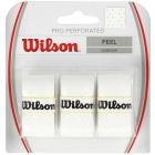 Wilson Pro Overgrip Perforated 3 Pack (Assorted Colors) - Tennis Grips
