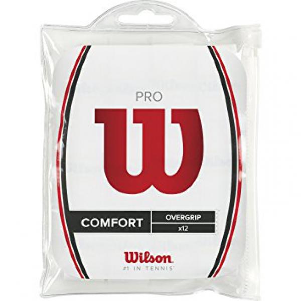 Wilson Pro Overgrip 12 Pack (White)