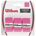 Wilson Pro Overgrip 3 Pack (Assorted Colors) - Absorbent Over Grips