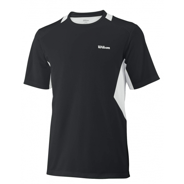 Wilson Men's Great Get Crew (Black/ White)