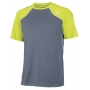 Wilson Men's Well Equipped Crew (Grey/ Lime)