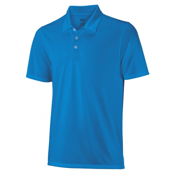 Wilson Men's On Court Polo (Royal)