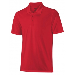 Wilson Men's On Court Polo (Red)