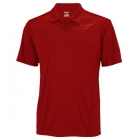 Wilson Men's Solana Embossed Polo (Red) - Men's Tops Polo Shirts Tennis Apparel