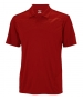 Wilson Men's Solana Embossed Polo (Red) - Wilson Men's Apparel Tennis Apparel