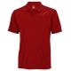 Wilson Men's Solana Embossed Polo (Red) - Wilson Tennis Apparel