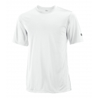 Wilson Men's On Court Crew (White) (Team) - Men's Tops Tennis Apparel