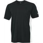 Wilson Men's On Court Crew (Black) (Team) - Men's Tops Tennis Apparel